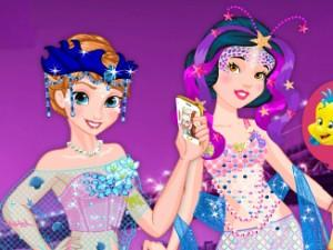 Disney Princess Mermaid Parade game