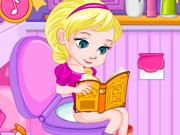 play Baby Elsa'S Potty Train H5
