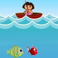 Dora balıkcılık Oyun