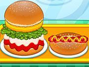 Burger Shop Fast Food game