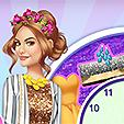 Lucy Hale Round The Clock game