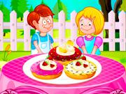 play Fluffy Cake Doughnuts
