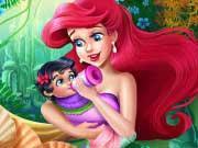 Ariel Baby Feeding game
