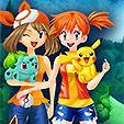 Pokemon Girls Dress Up game