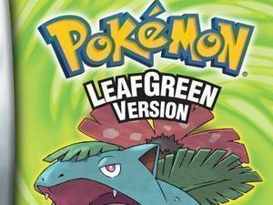 Pokemon Leafgreen Version game