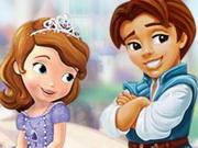 Sofia The First Kiss game