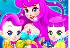 Mermaid Gives Birth Twins game
