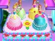 Princesses Cake Cooking game