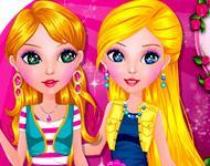 Adeline And Juliana Dress Up game