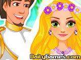 Rapunzel Summer Wedding game