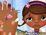 Doctora Juguetes Foot Doctor game
