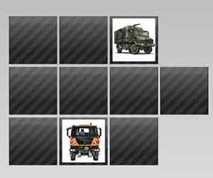 Unimog Truck Memory game