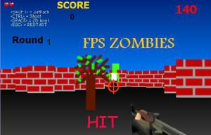 Fps Zombies Attack game