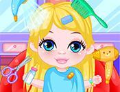 Baby Barbie Hairdresser game