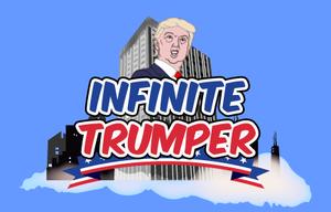 Infinite Trumper game