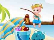 Baby Hazel Fishing Day game
