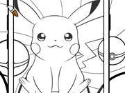 Coloring Pokemon Go game