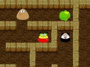 play Pou In Maze