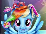 Rainbow Pony Real Haircuts