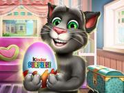 Talking Tom Kinder Surprise game