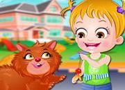 Baby Hazel Fluffy Cat game