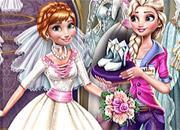 Eliza Preparing Chloe Wedding game