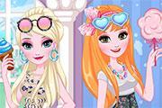 Elsa And Anna Diy Sunglasses game