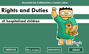 Rights & Duties Of Hospitalized Children game
