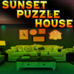 Sunset Puzzle House Escape game