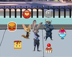 Zootopia Dessert Battle game