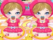 My Newborn Twins Baby Makeover game