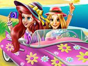 Princesses Beach Trip game