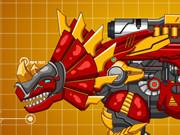 Steel Dino Toy: Mechanic Triceratops game