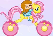 play Rainbow Pony Ride