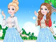 play Cinderella'S Glittery Dress