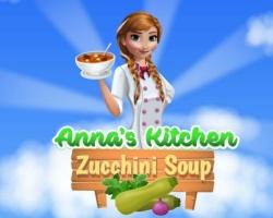 Annas Kitchen Zucchini Soup game