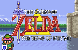 The Legend Of Zelda - The Hero Of Rhyme game