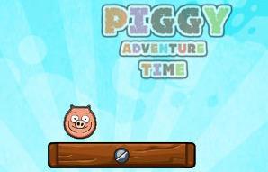 Piggy Adventure Time game