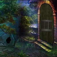 Dark Tunnel Town Escape game