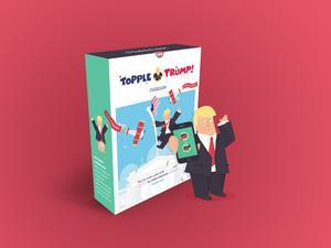 Topple Trump game