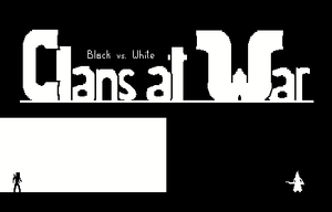 Clans At War: Black Vs. White game