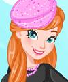 Princess Anna Pink Addict Dress Up game