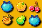 Retro Fruit Crush game