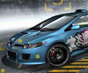 Honda Hidden Car Tires game