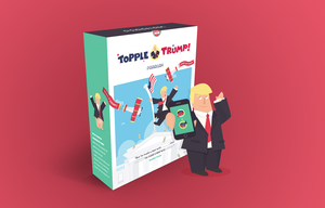 Topple Trump game