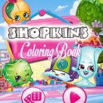 Shopkins Coloring Book game
