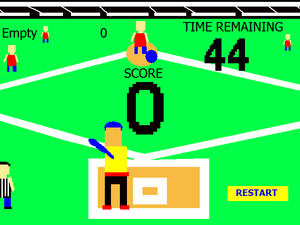 Retro Baseball Attack game