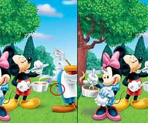 Disney Stars Differences game