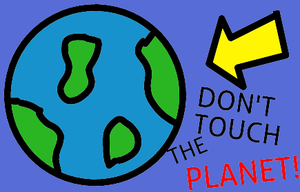 Don'T Touch The Planet! game