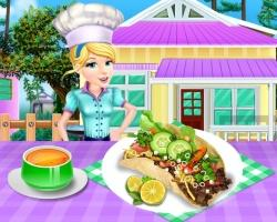 Yummy Taco Cooking game